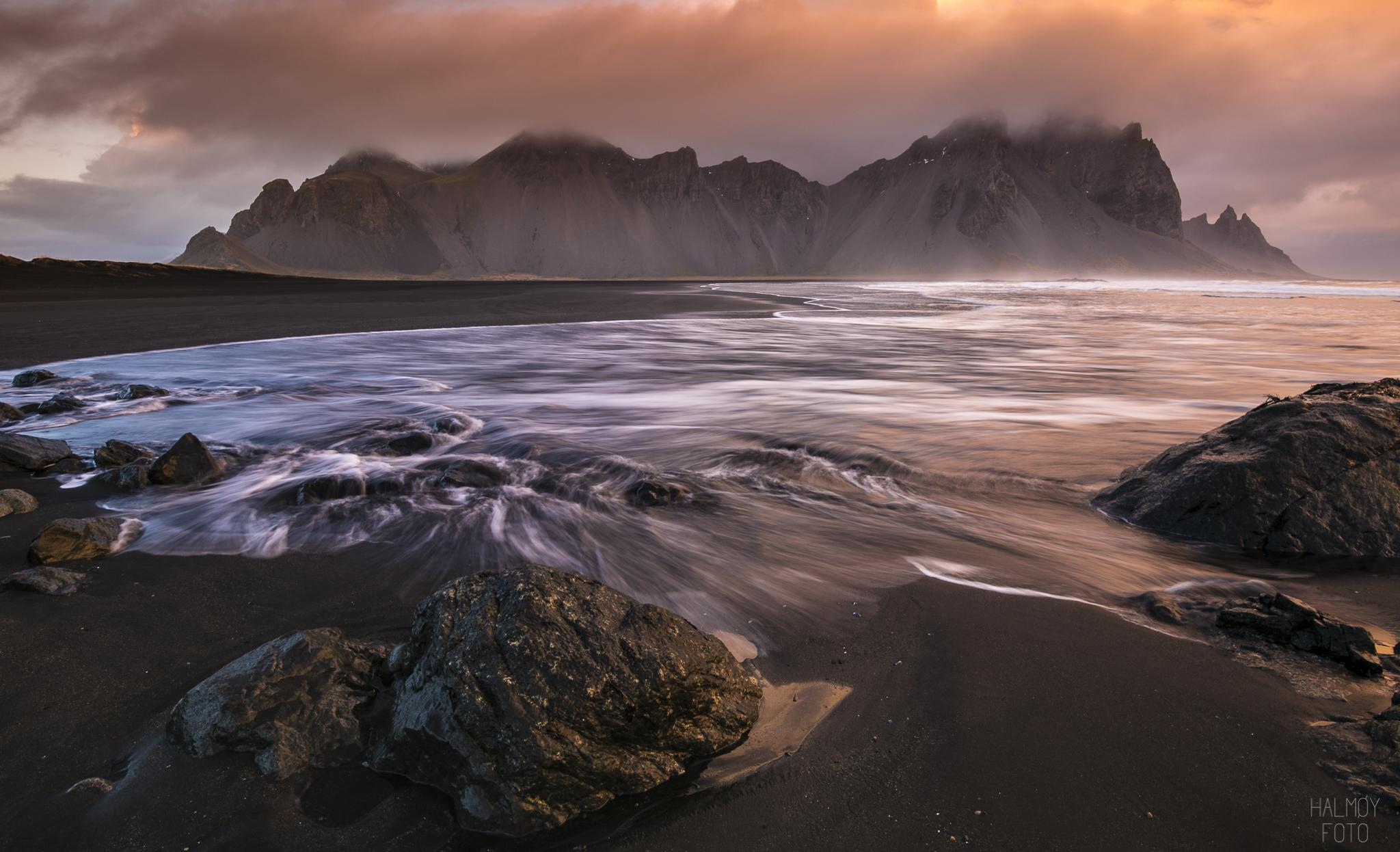 Det er kanskje ikke så rart at jeg blei helt forelska i Island.