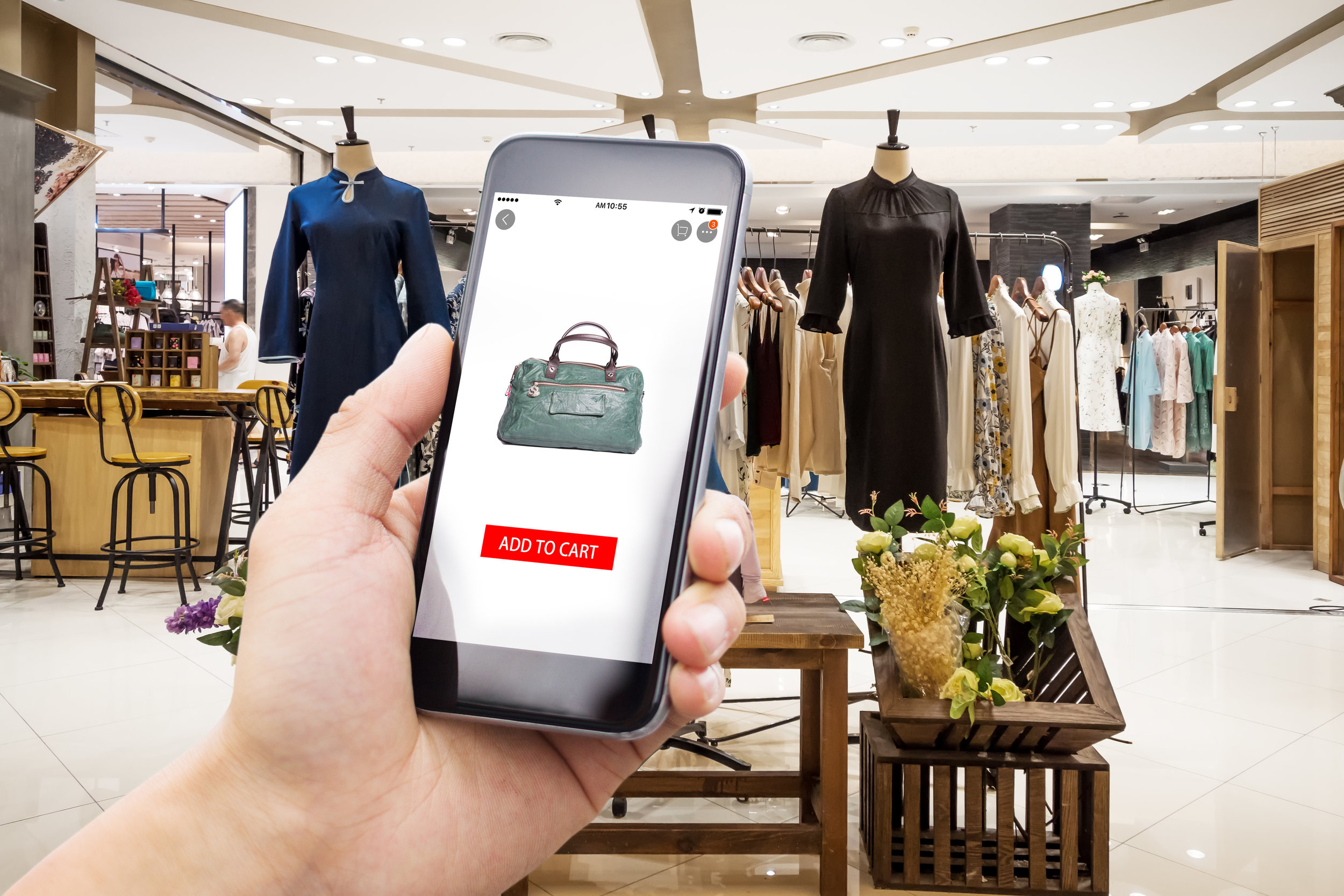 MOBILE - & IN-STORE CONNECTIVITY