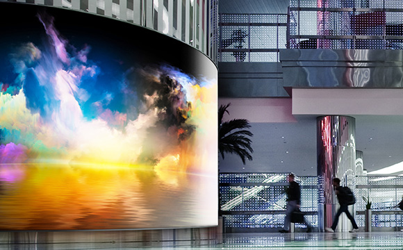 CURVED LED SIGNAGE - LG LAC SERIES