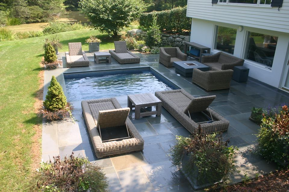 Ref ID  - Spa with auto cover New Canaan, CT
