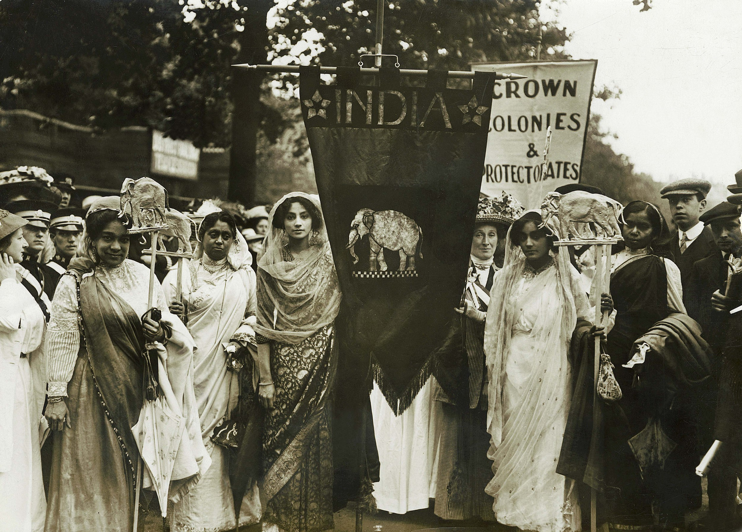 Women's Coronation Procession, 17 June 1911, courtesy of the Museum of London