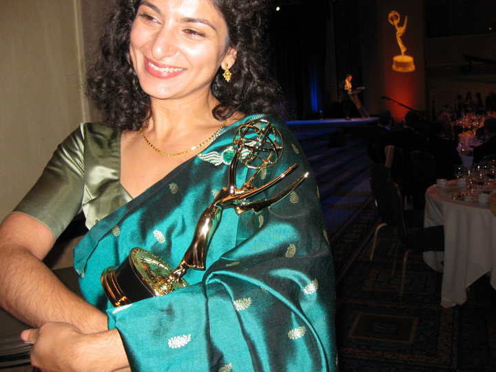 Remember that? I'm going for another one, in a sari!
