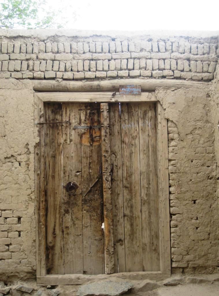 An old door.