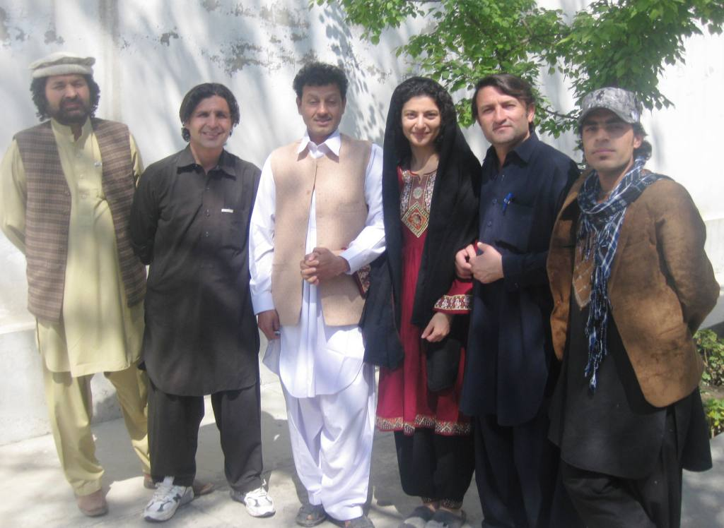 Haydari is on the far left. he made me this amazing dress, pants and scarf.