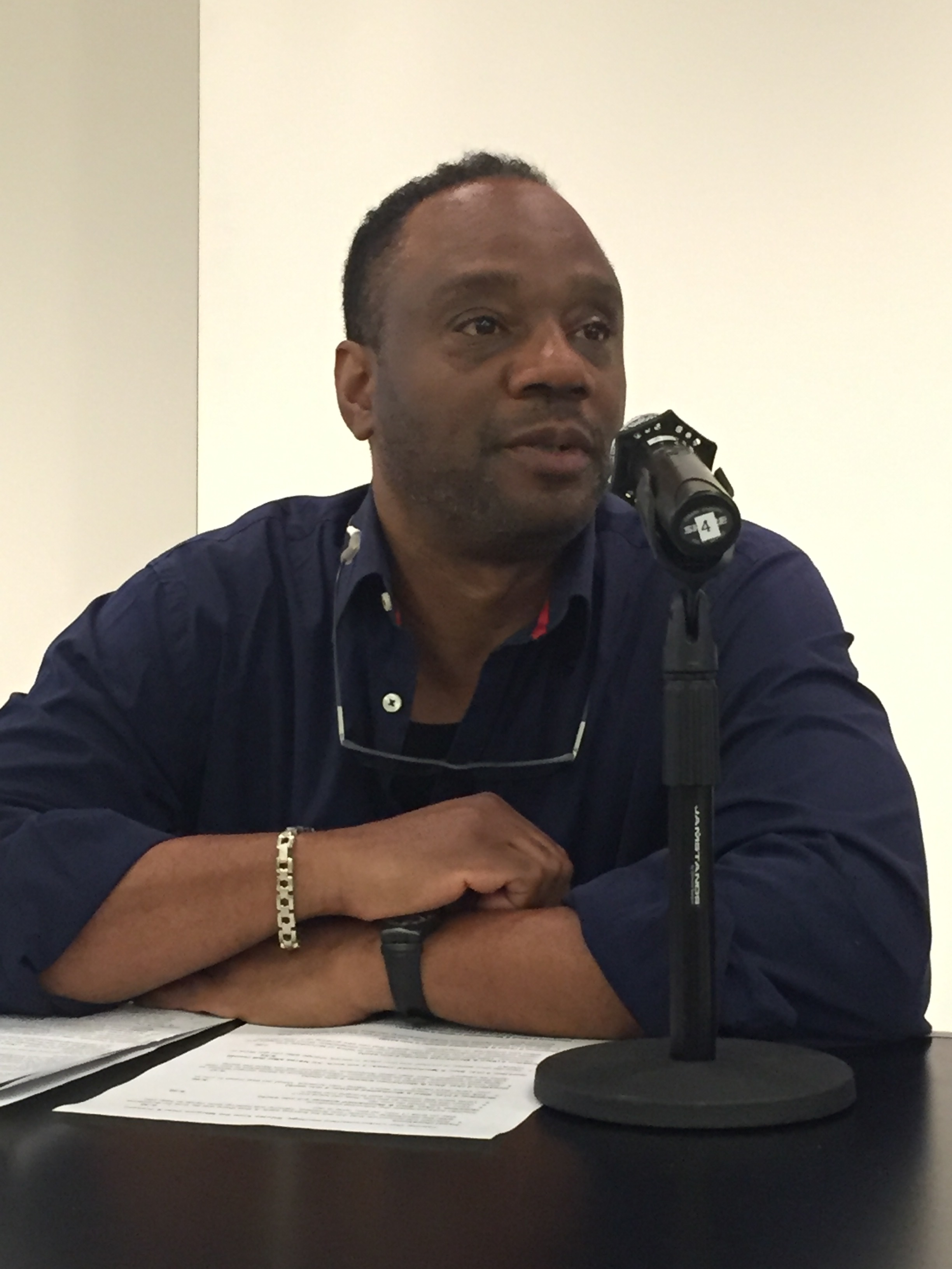 IRCA recipient Stedrot Cleghorne speaks about life as a black immigrant
