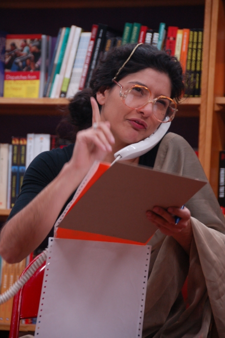 Performance, Revolution Books, Berkeley CA, 2007