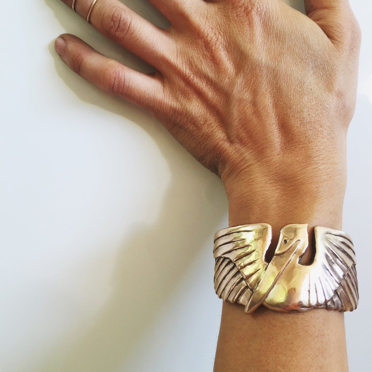 Pelican Cuff from Mimosa Handcrafted