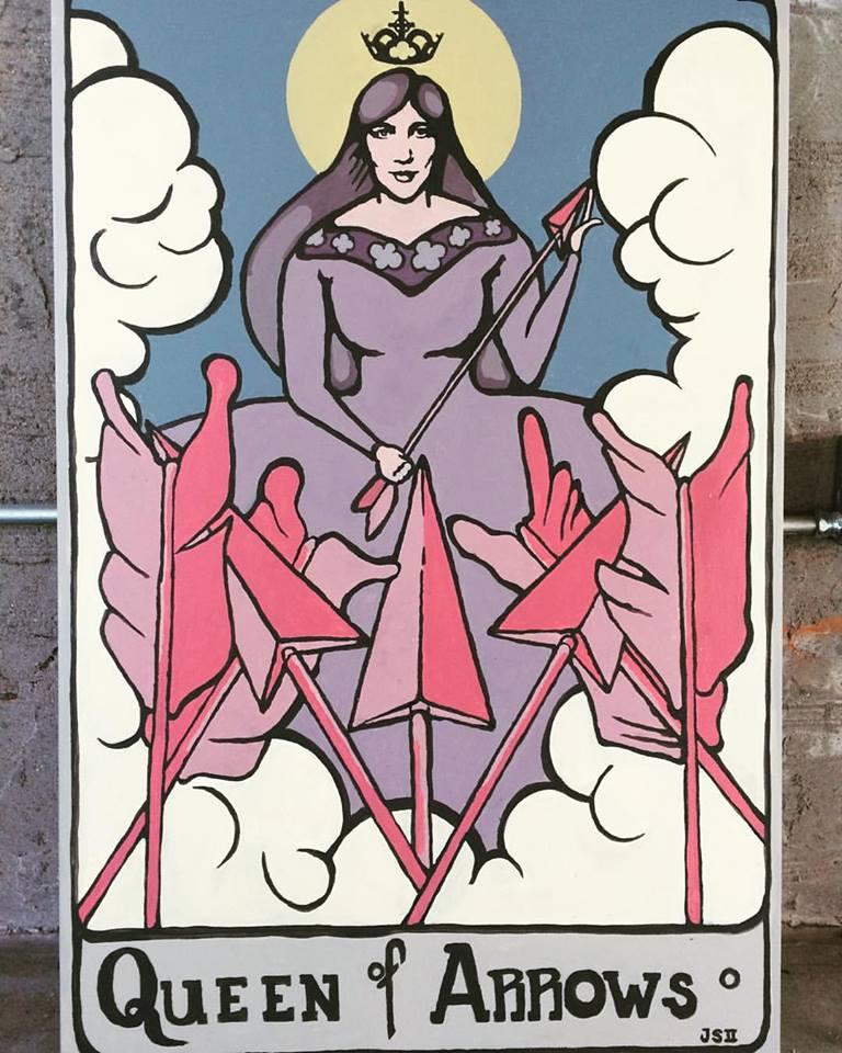 """""""Queen of Arrows"""" by Joe Speyrer"""