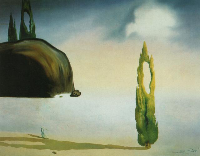 importantmodernart :     The Echo of the Vold, 1935  Salvador Dalí