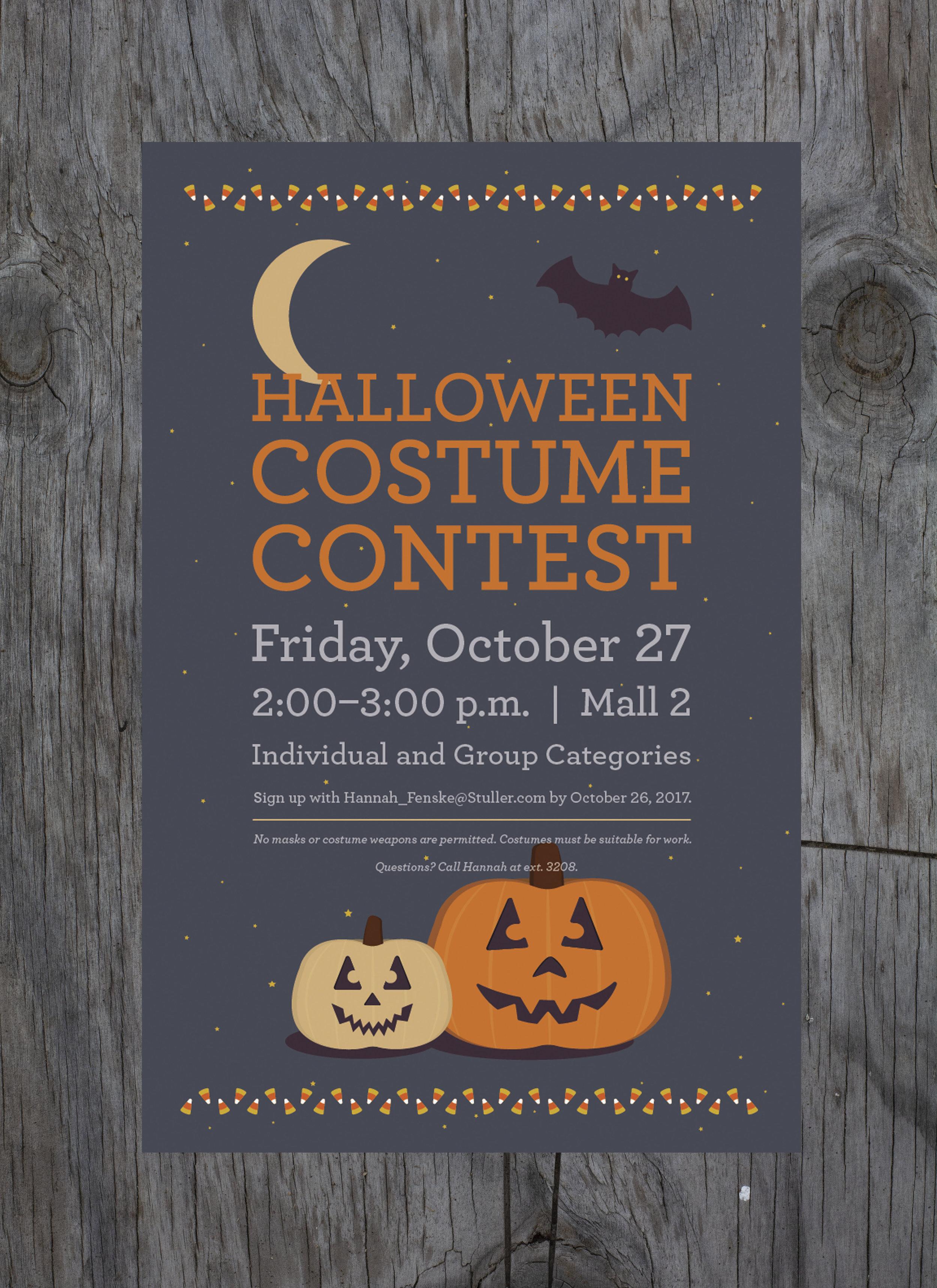 Halloween Contest Design