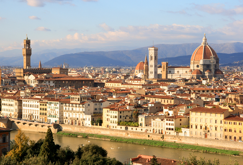 A visit to Piazzale Michelangelo