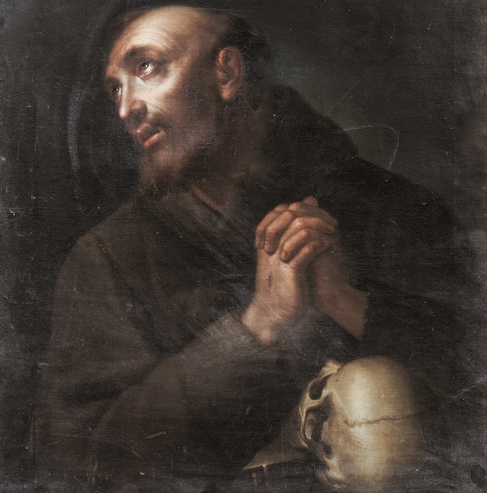 "Anna Piattoli's ""Praying Saint Francis"""