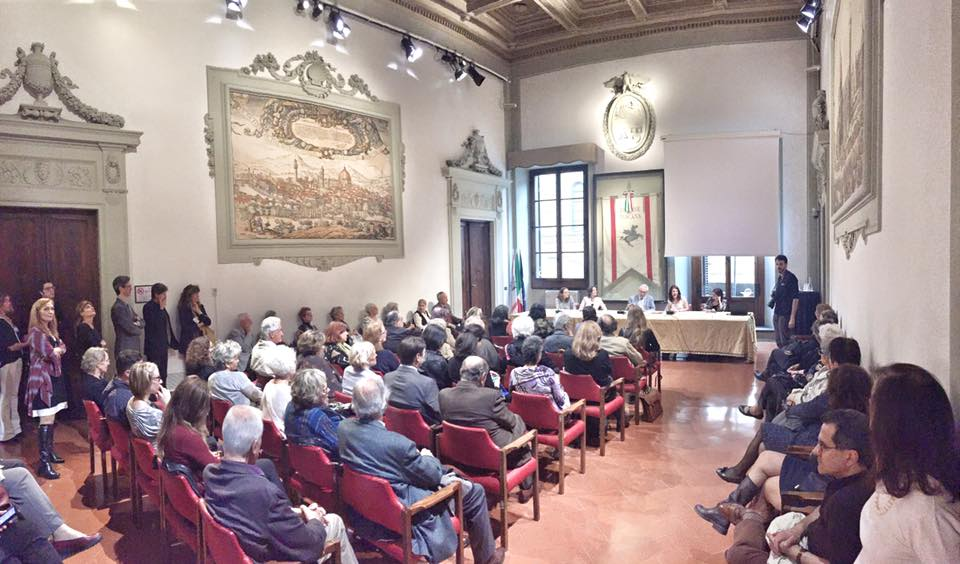"""The presentation of """"Women Artists of the 1900s"""" at the Regional Council's Palace, Florence"""