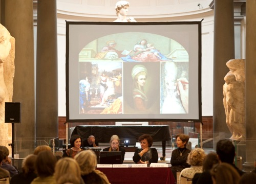 An conference at the Accademia Gallery on Irene Parenti Duclos_BOX.JPG