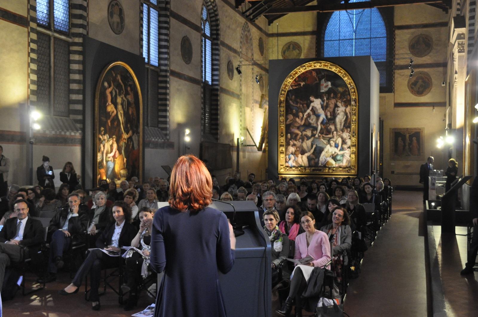 """La presentazione di """"Santa Croce in pink"""" nel Museo dell'Opera di Santa Croce"""