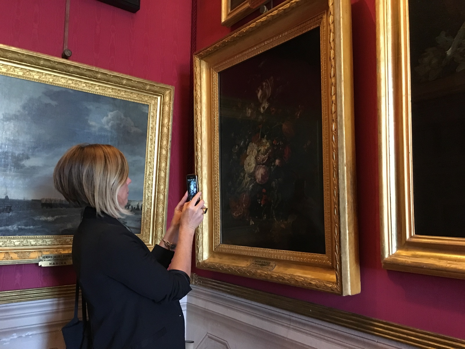 Partnership relations, Jane Adams scouting out 'Art hopefuls' in Florence's museums