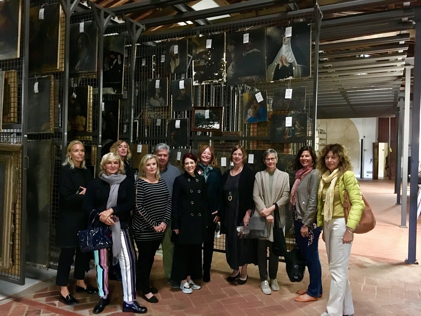 Various members of our International Advisory Council as guests in the San Salvi Storehouse