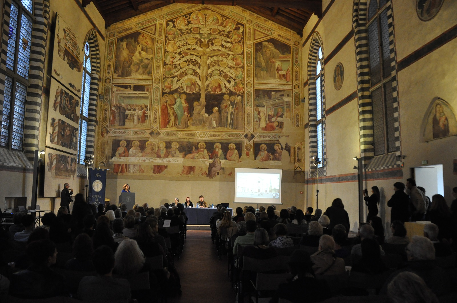 The presentation of the De Fauveau project at Santa Croce.