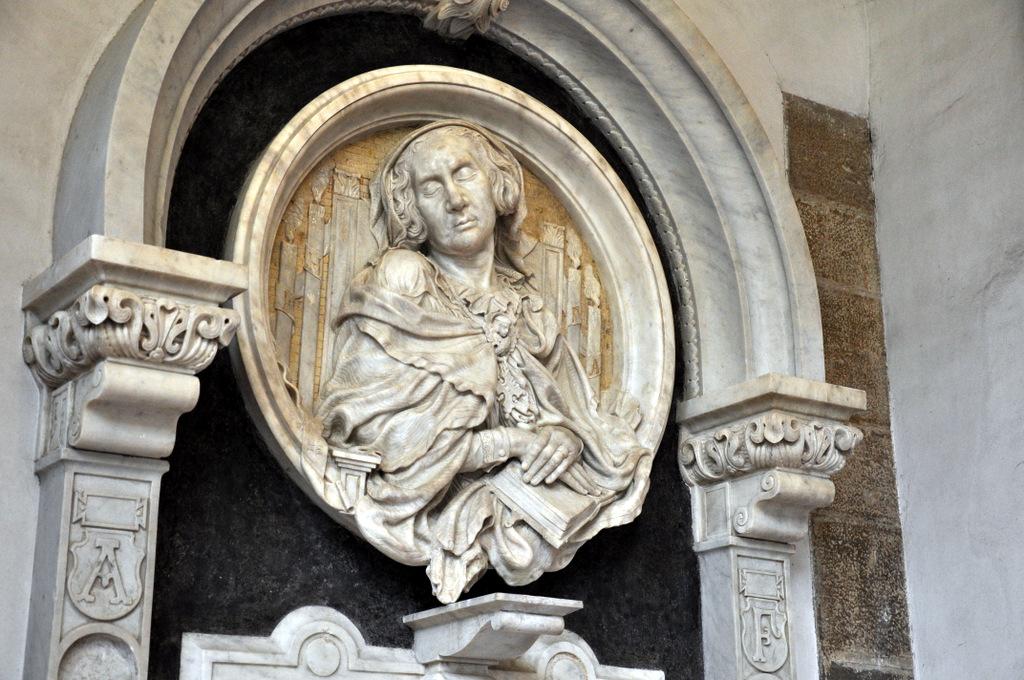 Il monumento funebre di Anne de la Pierre (1859), pre restauro