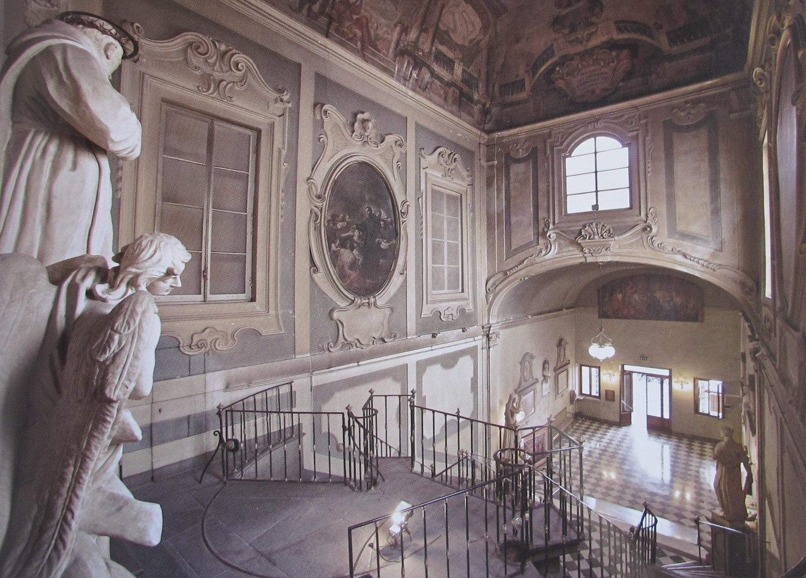 Il Santo visita le vittime della peste, Violante Ferroni, 1756