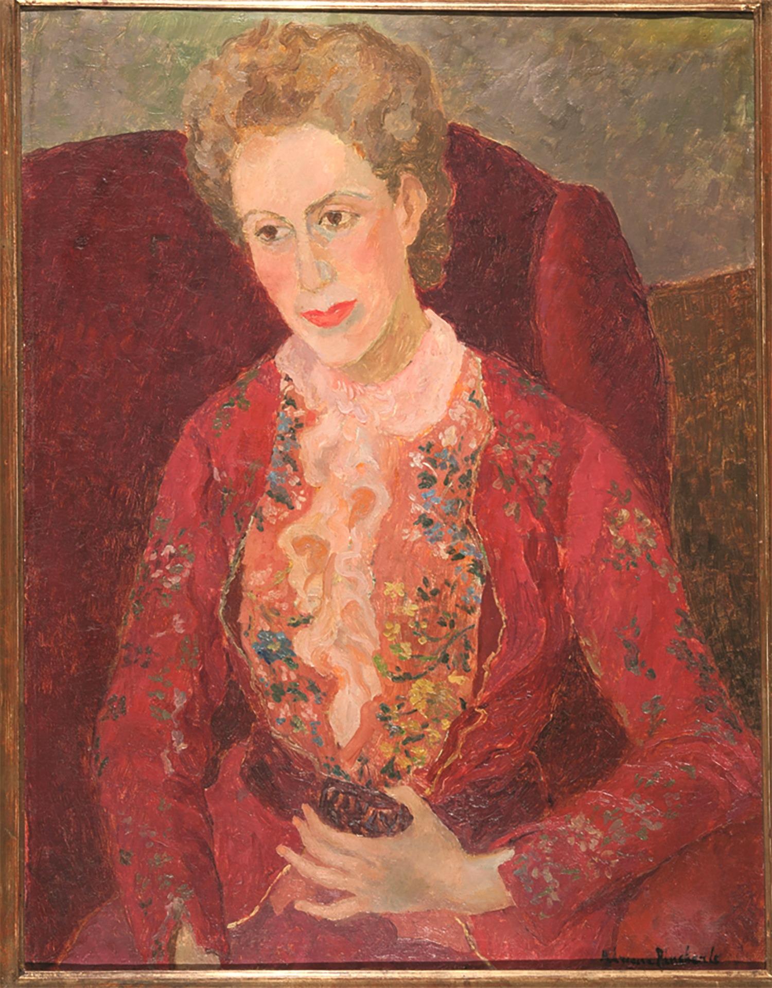 Portrait of Gianna Manzini by Adriana Pincherle