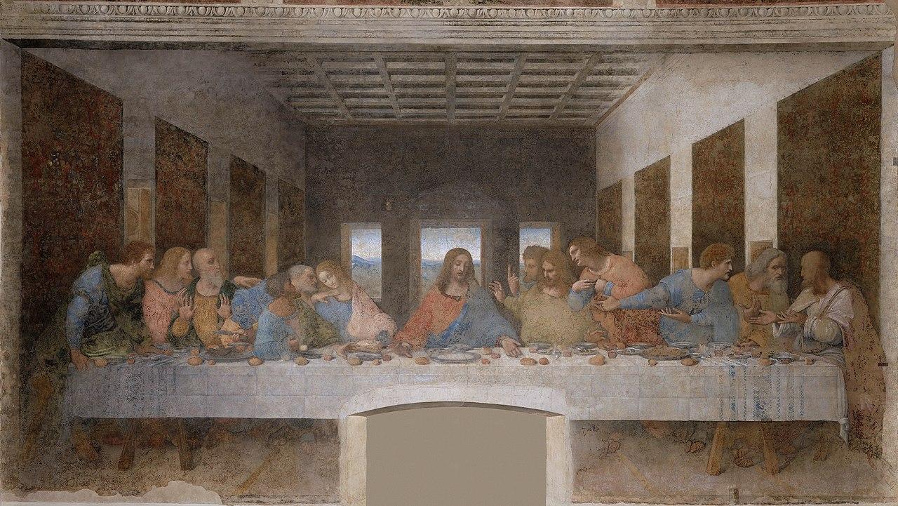 Nelli's inspiration? Leonardo Da Vinci's Last Supper