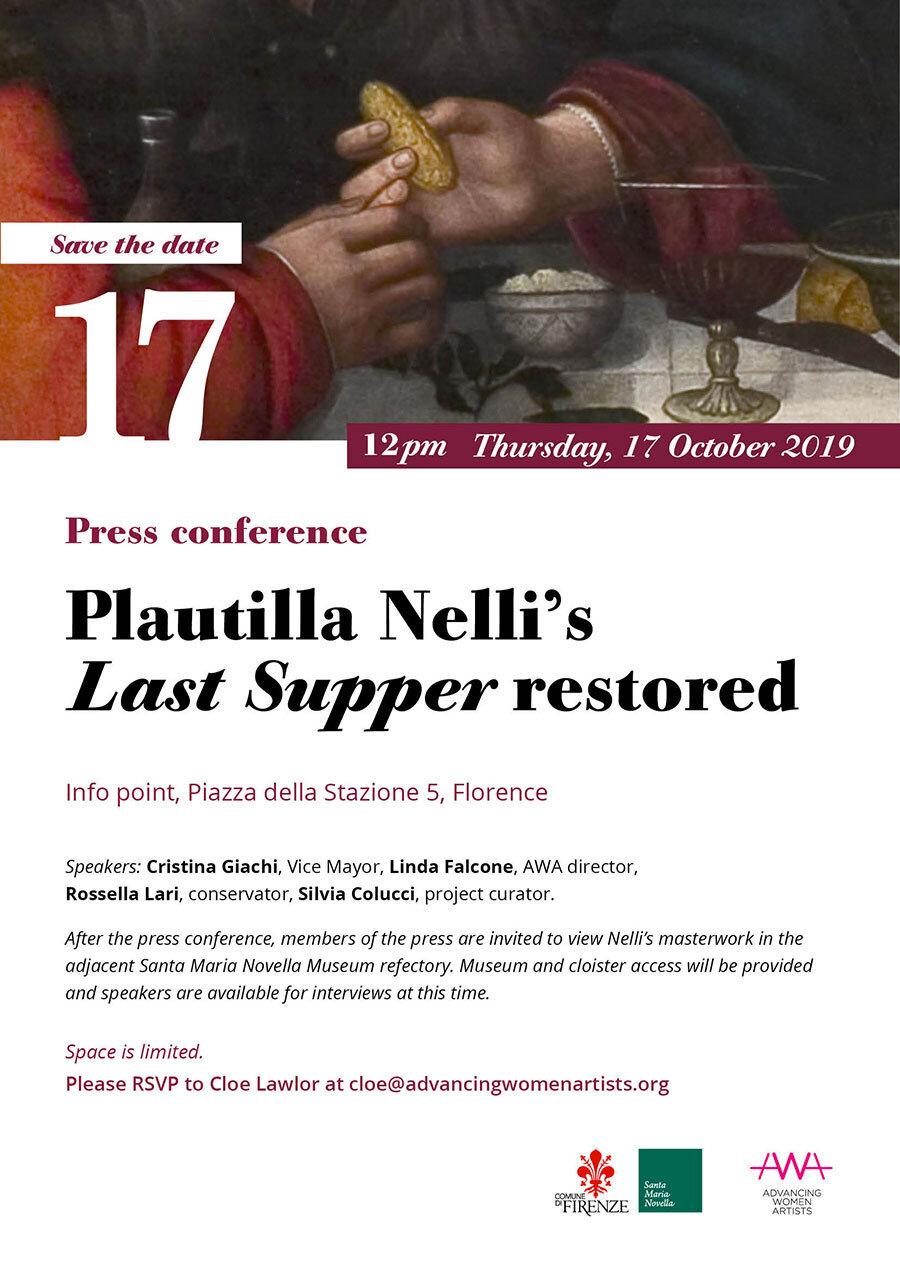 Press conference for Nelli's Last Supper.jpg