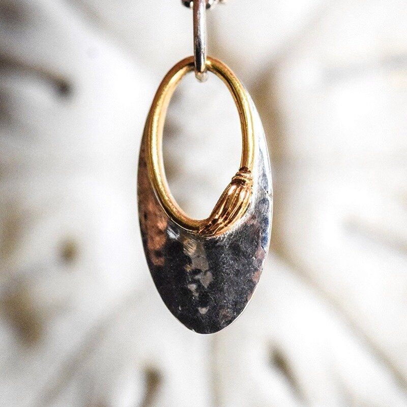 Silver with 18kt Gold
