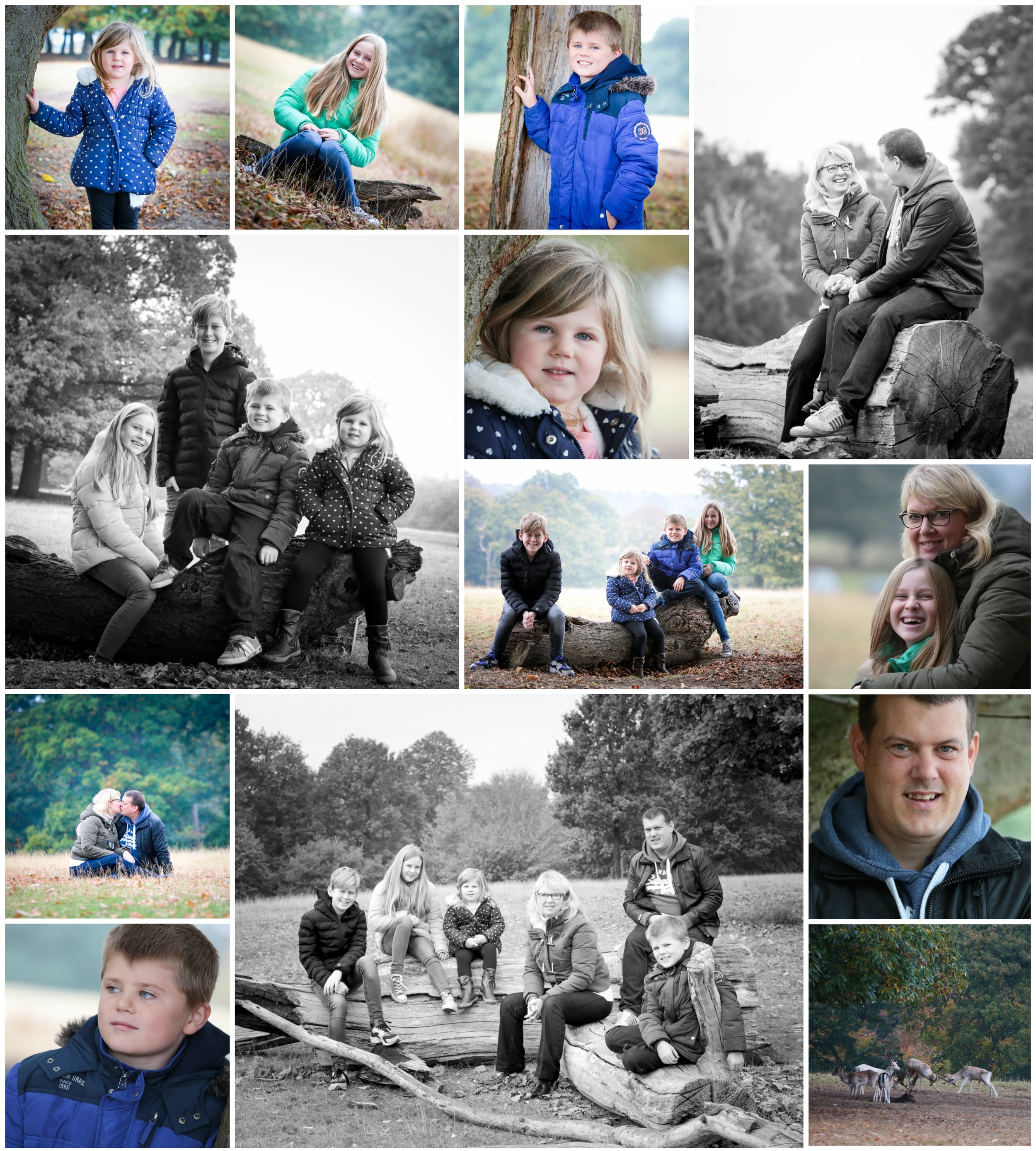 Sevenoaks family photo shoot