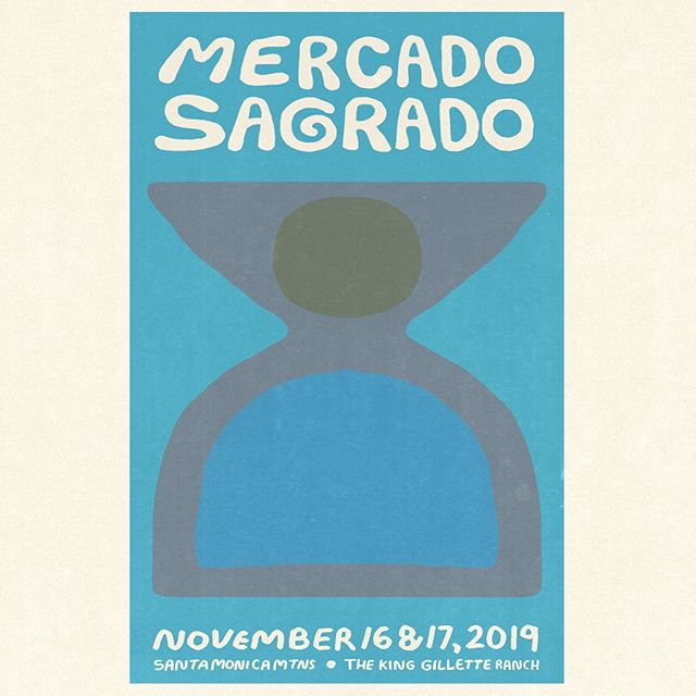 We're heading to @mercado_sagrado in November! I'm so excited to be a part of this two-day event full of amazing music, programming and the best artisans of all stripes from around the country. Come see us at King Gillette Ranch in the Santa Monica Mountains. It'll be a trip. Get your tickets at the link in my bio!
