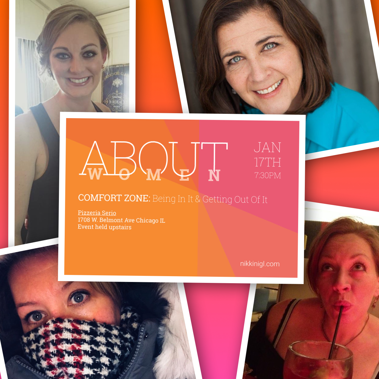 TOP LEFT going clockwise: Laurel Parks, Dana Wojtan, Tracee Porter, Sandra Sheppard