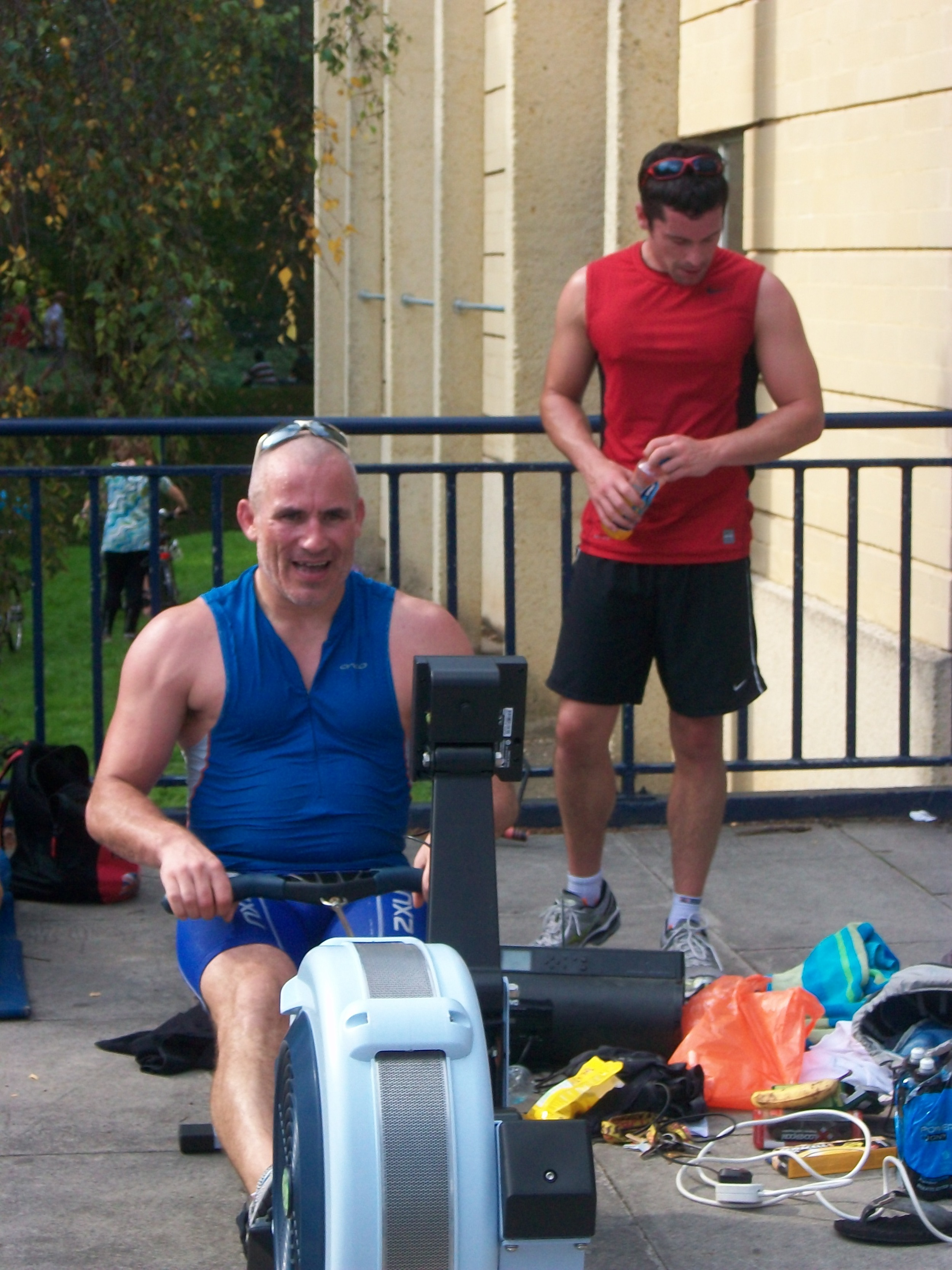 Picture taken October 2010 Rowing a marathon for Forever Friends