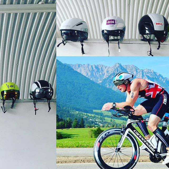 For those cyclists, who want to squeeze extra speed. We have an array of helmets for you to try on. Looking at a position that works , for the individual is 1 factor that could give an edge over other competitors .what shape of helmet  works with your body, with a few cues and some practice you could find less drag and being as aero as possible, saving effort levels putting out extra power. This is all part of our full bike fit and aero check package .  @zoot_athlos #aeroiseverything #bikefitter #lids