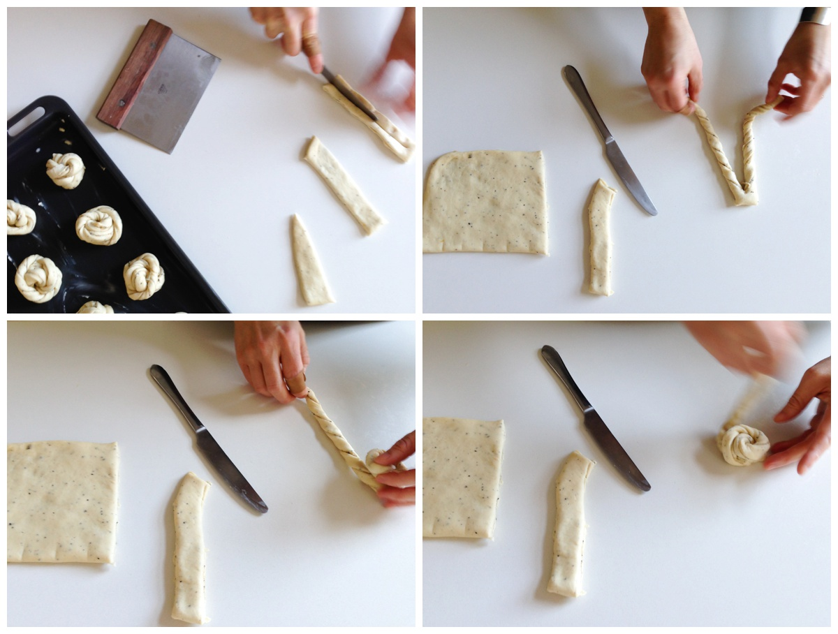 "The same base dough recipe can be used to form small individual buns or a single, larger loaf (also known as ""length"")."