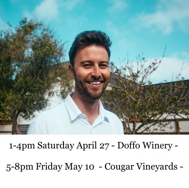 Temecula! I'm coming to play for you this week! 🎹 🎶🍷 @doffowinery @cougarwinery 📸 @marchaize