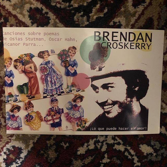 Promotional material from Las Jornadas de Poesía