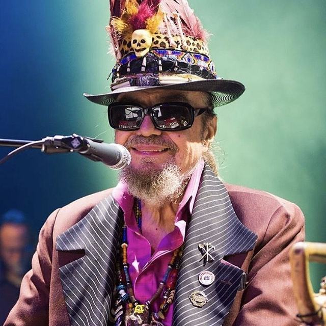 RIP The New Orleans Nite-Tripper. What a wonderful career in music. #drjohn