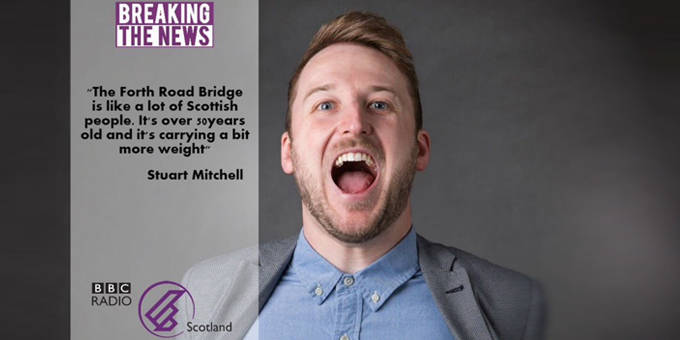 Stuart Mitchell 'Breaking the News'