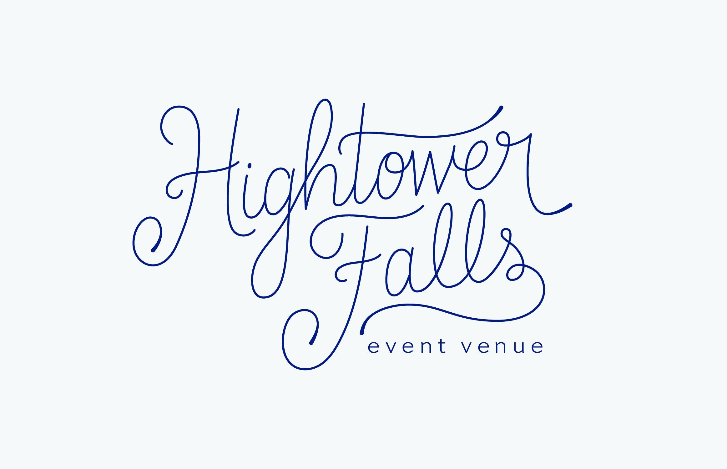 Hightower Falls, wedding & event venue