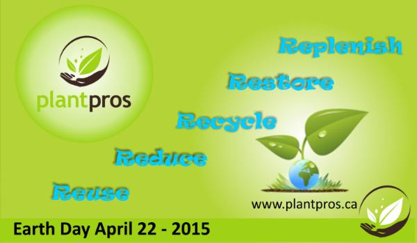 Plantpros Earth Day Blog