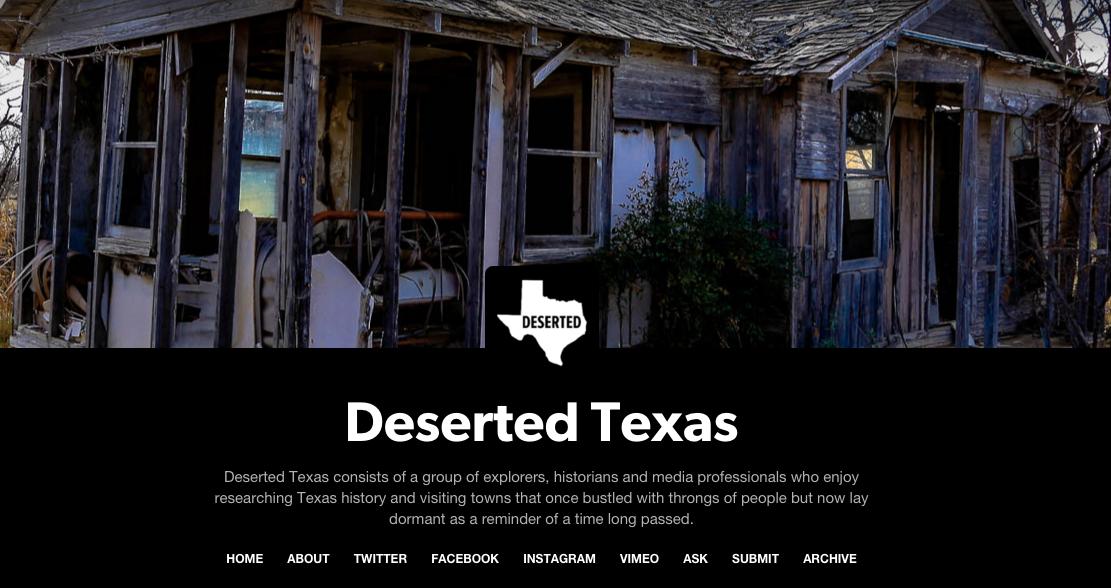 Deserted TX Blog (San Antonio, TX)