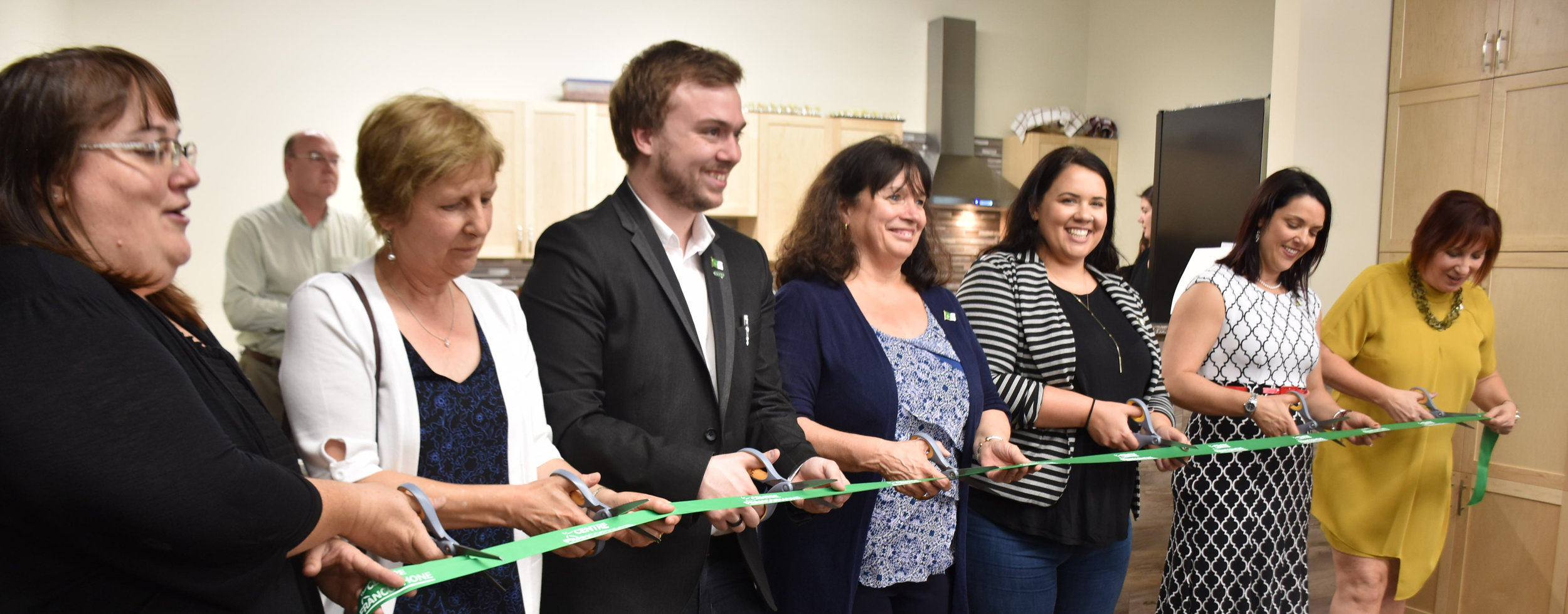 Ribbon cutting. Picture by Audrey Debruyne.