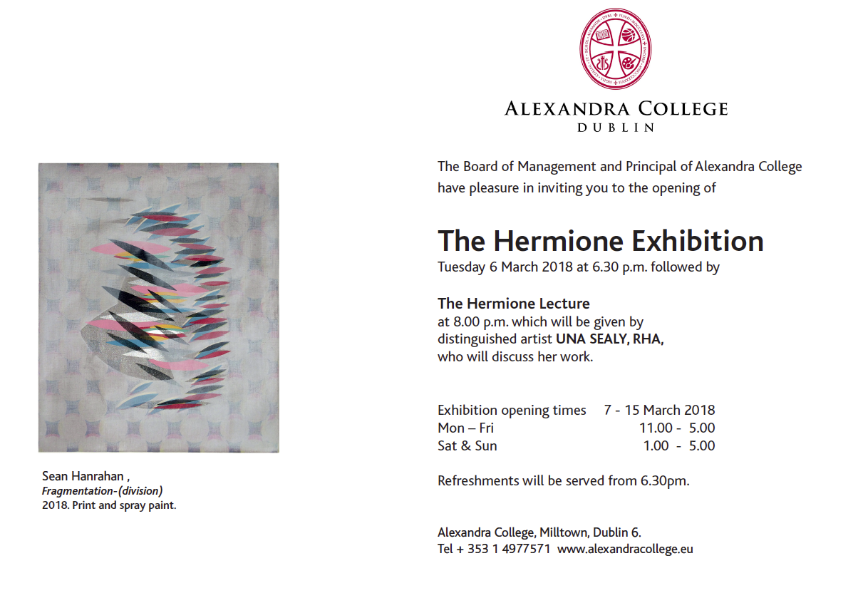 Work from 'The Girlhood Project' featured in Hermione Exhibition 2018.