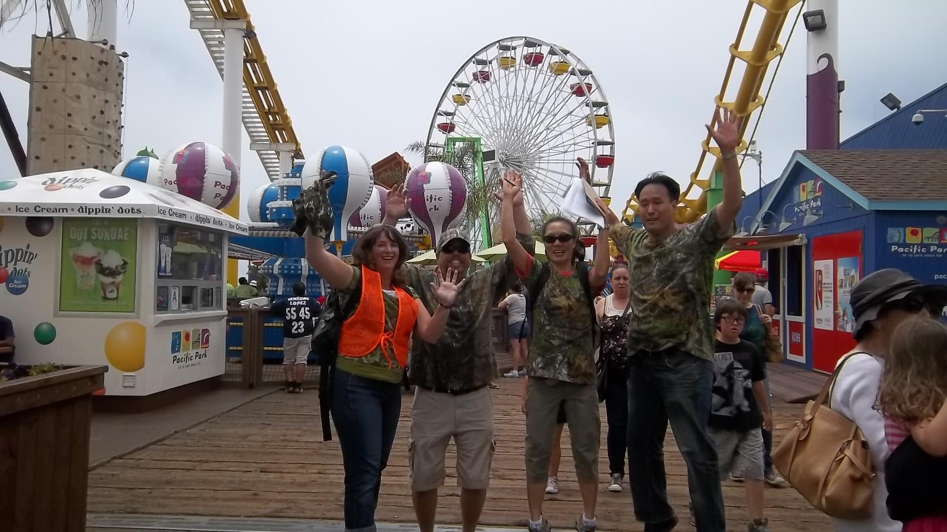 Santa Monica Scavenger Hunt