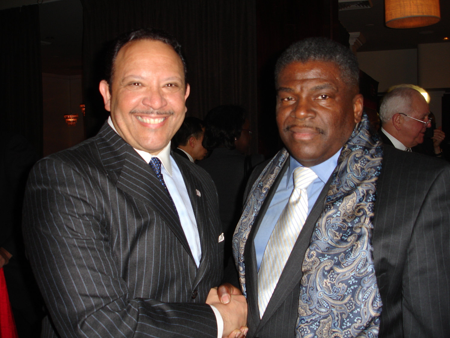 National Urban League President & CEO, Marc H. Morial and Adrian Harpool