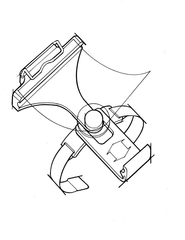 Tablet device kneeboard concept for civil aviation pilots.