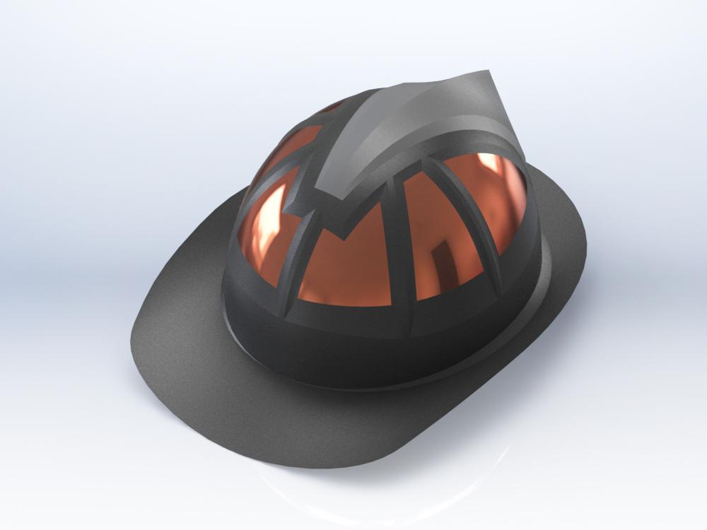 Fire helmet concept