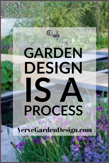 Garden design follows a process. Image: Verve Garden Design.