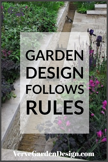 Garden design follows some simple rules. Image: Verve Garden Design