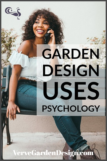 Garden design uses psychology. Image: Verve Garden Design.